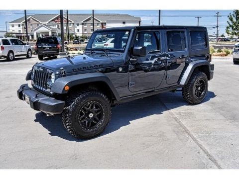 USED 2016 JEEP WRANGLER UNLIMITED RUBICON 4WD